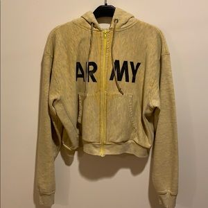 Army sweatshirt